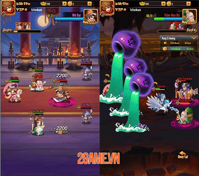 Chiu Chiu Tam Quốc Mobile có nhiều cách để nâng cấp sức mạnh đội hình 2