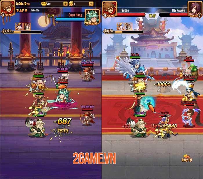 Chiu Chiu Tam Quốc Mobile có nhiều cách để nâng cấp sức mạnh đội hình 3
