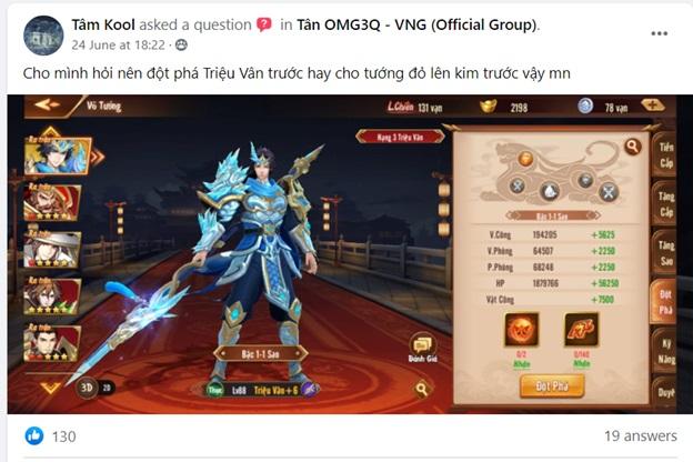 Tân OMG3Q VNG đặt ra bài toán khó cho game thủ: Tăng Kim hay Đột Phá? 0
