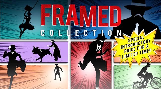 Framed – Game giải đố hại não mang đậm phong cách truyện tranh DC