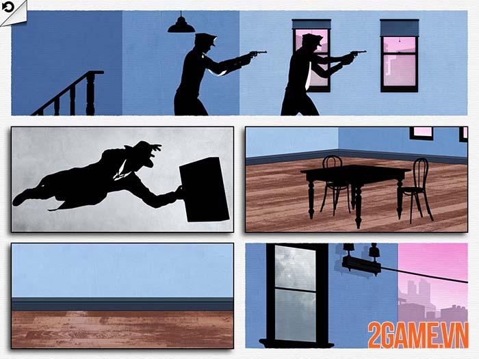 Framed - Game giải đố hại não mang đậm phong cách truyện tranh DC 2