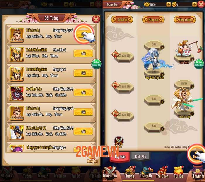 Game thủ tự tin thể hiện bản thân trong Chiu Chiu Tam Quốc 1