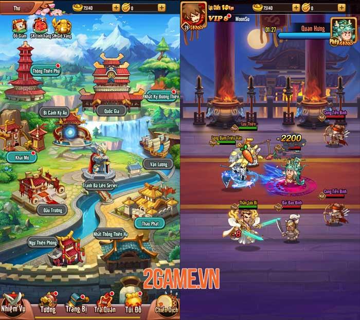 Game thủ tự tin thể hiện bản thân trong Chiu Chiu Tam Quốc 3