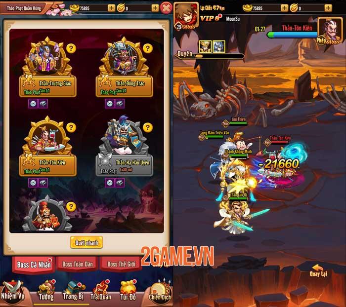 Game thủ tự tin thể hiện bản thân trong Chiu Chiu Tam Quốc 4