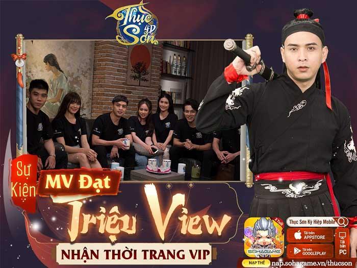 Hồ Quang Hiếu tung MV cực ngầu mừng sinh nhật Thục Sơn Kỳ Hiệp 2 tuổi 3