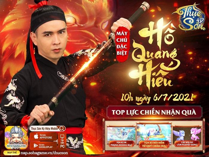 Hồ Quang Hiếu tung MV cực ngầu mừng sinh nhật Thục Sơn Kỳ Hiệp 2 tuổi 6