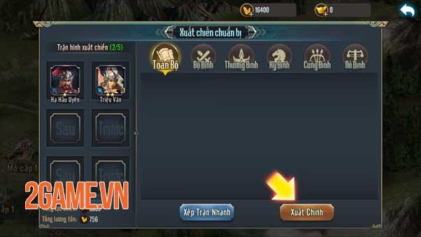 Chiến Tướng Tam Quốc - Chất SLG hardcore hiếm có khó tìm của làng game Việt 6