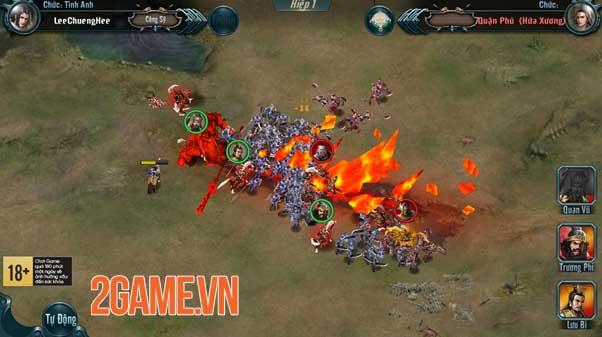 Chiến Tướng Tam Quốc - Chất SLG hardcore hiếm có khó tìm của làng game Việt 7