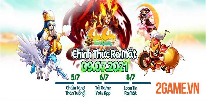Chiu Chiu Tam Quốc - Thế giới 3Q mới lạ sẽ mở cửa chào đón game thủ ngày mai 0