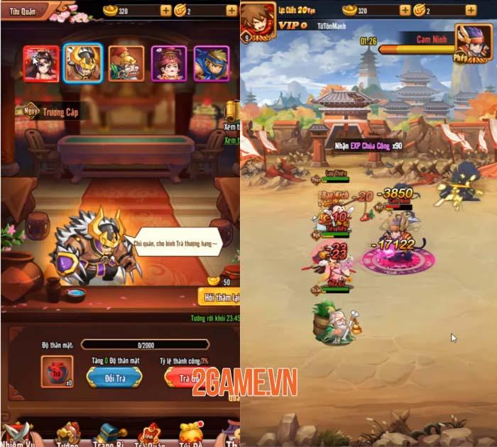 Chiu Chiu Tam Quốc - Thế giới 3Q mới lạ sẽ mở cửa chào đón game thủ ngày mai 3
