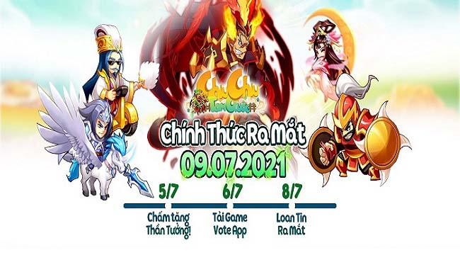 Chiu Chiu Tam Quốc – Thế giới 3Q mới lạ sẽ mở cửa chào đón game thủ ngày mai
