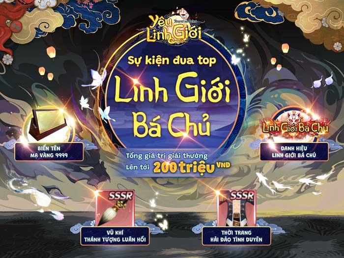 Tặng 1000 giftcode Yêu Linh Giới Mobile mừng Open Beta 0