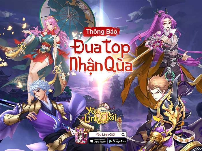 Game Yêu Linh Giới VGP chơi lớn, vừa ra mắt đã tung sự kiện trị giá 200 triệu VND 5