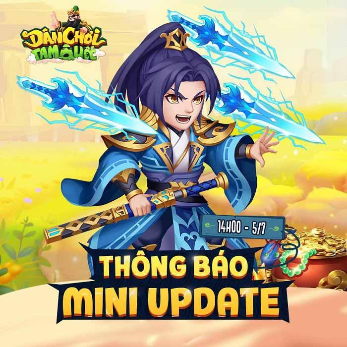 Dân Chơi Tam Quốc tung chuỗi sự kiện xịn xò mừng Mini Update Kim Thú Thần Binh 0