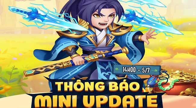 Dân Chơi Tam Quốc tung chuỗi sự kiện xịn xò mừng Mini Update Kim Thú Thần Binh