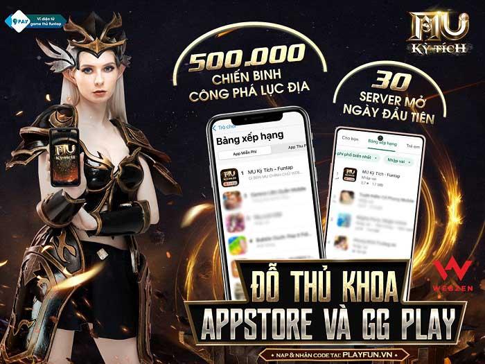 """MU Kỳ Tích trở thành """"hiện tượng"""" của làng game Việt với thành tích ấn tượng 2"""