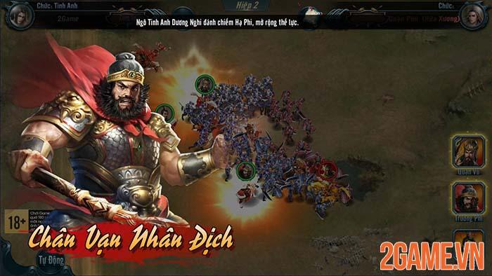 Trải nghiệm Chiến Tướng Tam Quốc - Bá mộng sơn hà game thủ định? 7