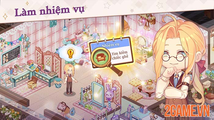 Kawaii Mansion - Game xây dựng thiết kế nội thất đúng chuẩn Wibu 3