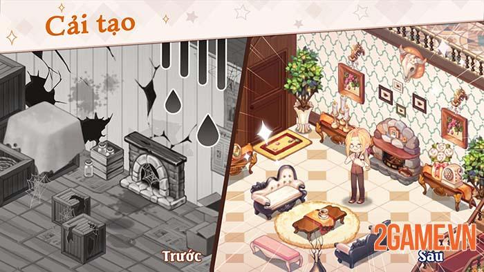 Kawaii Mansion - Game xây dựng thiết kế nội thất đúng chuẩn Wibu 1
