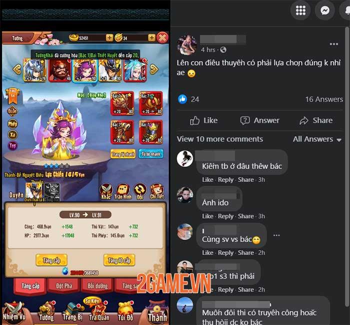 Game 3Q độc lạ Chiu Chiu Tam Quốc được game thủ Việt ủng hộ nhiệt tình 5