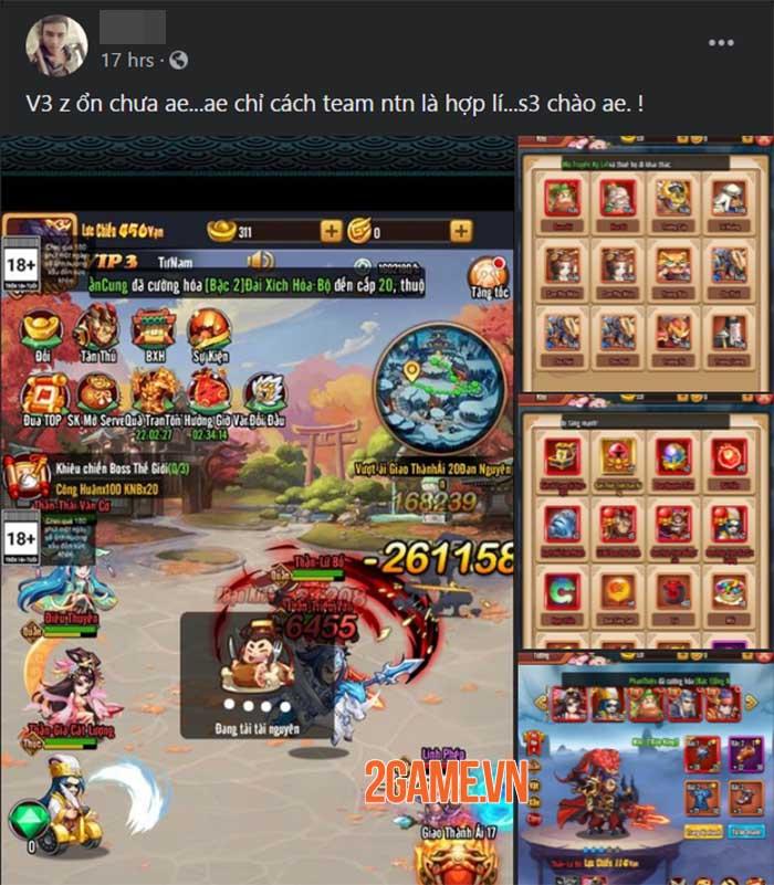 Game 3Q độc lạ Chiu Chiu Tam Quốc được game thủ Việt ủng hộ nhiệt tình 6