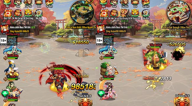 Game 3Q độc lạ Chiu Chiu Tam Quốc được game thủ Việt ủng hộ nhiệt tình