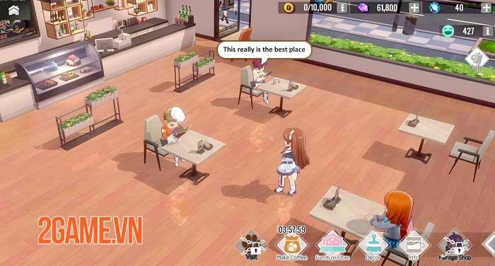 Girl Cafe Gun - Game quản lý quán cafe và dẫn dắt các nữ chiến binh xinh đẹp 4