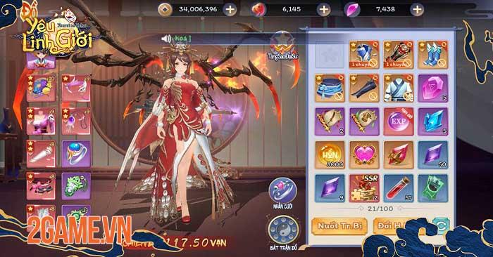 Game thủ Yêu Linh Giới Mobile mê mẩn chuỗi tính năng đặc sắc chuẩn style Nhật 5