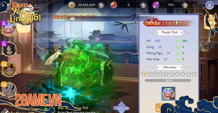 Game thủ Yêu Linh Giới Mobile mê mẩn chuỗi tính năng đặc sắc chuẩn style Nhật 8