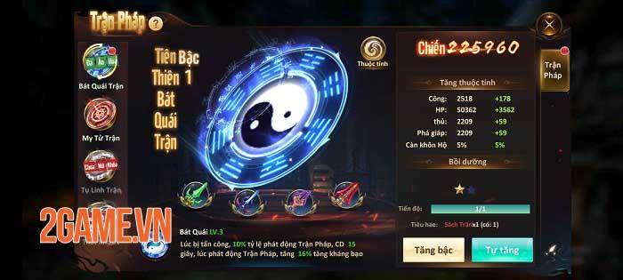 Tam Sinh Kiếp càng chơi càng cuốn với gameplay nhập vai tiên kiếm hiệp kinh điển 4