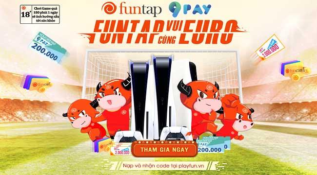 Máy chơi PlayStation 5 đang chờ người chơi giành lấy tại sự kiện Funtap Euro