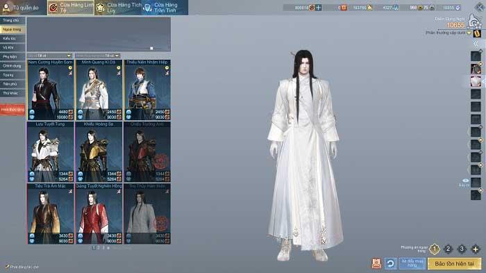 Cứ ngỡ Cổ Kiếm Kỳ Đàm Online là game thời trang vì có quá nhiều trang phục 5