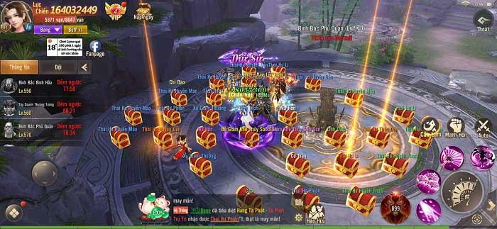 Game thủ Phong Khởi Trường An đón tháng 7 cùng chuỗi sự kiện đua TOP 4
