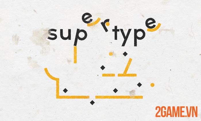 SuperType - Game giải đố hại não với thư pháp rồng bay phượng múa 1