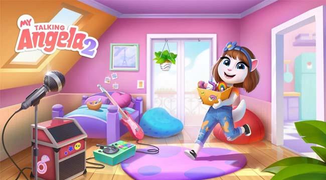 Vừa ra mắt My Talking Angela 2 đã thu hút hàng triệu game thủ tải về