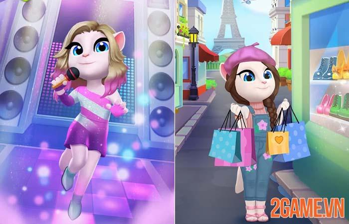 Vừa ra mắt My Talking Angela 2 đã thu hút hàng triệu game thủ tải về 1