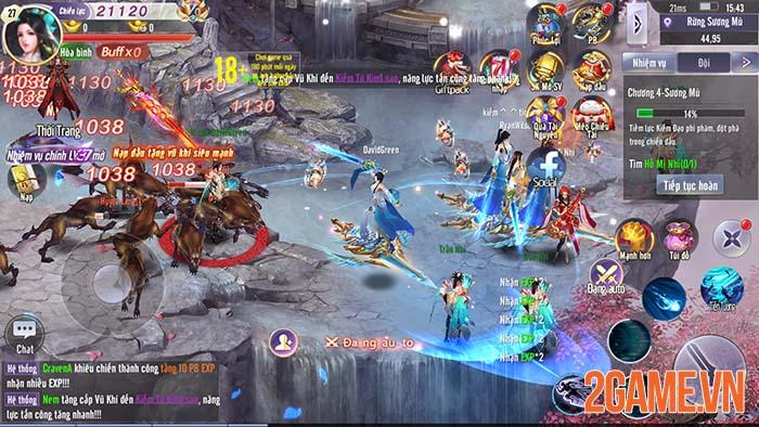 Trải nghiệm Võ Lâm Kiếm Vương 3D - Tuyệt đỉnh kiếm thuật phương Đông 7