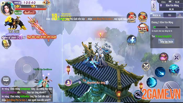 Trải nghiệm Võ Lâm Kiếm Vương 3D - Tuyệt đỉnh kiếm thuật phương Đông 0