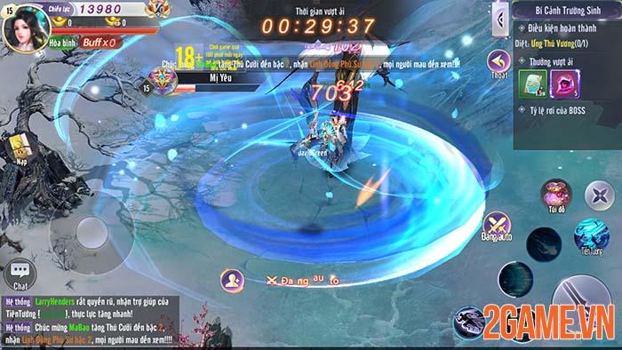 Trải nghiệm Võ Lâm Kiếm Vương 3D - Tuyệt đỉnh kiếm thuật phương Đông 2