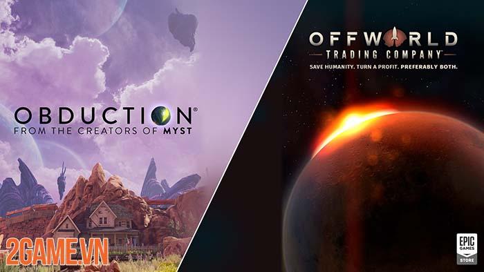 Obduction và Offworld Trading Company game chủ đề vũ trụ miễn phí 0