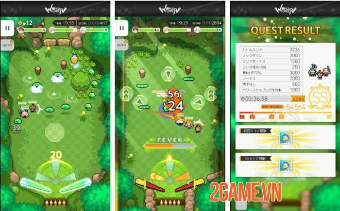 World Flipper - Game hành động chủ đề pinball với nhiều cơ chế ấn tượng 3
