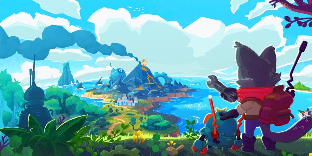 Botworld Adventure - Game nhập vai thế giới mở thu thập phế liệu mới lạ 0