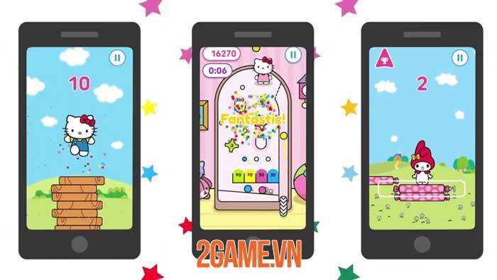 Hello Kitty Pinball - Tựa game đa nền tảng đáng yêu với nhân vật Sanrio 2