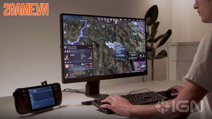 Steam Deck - Giải pháp chơi mượt mà game AAA tiện lợi của Valve 3
