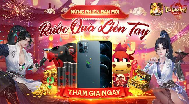 Cộng đồng Tân Thiên Long Mobile VNG hào hứng với loạt event đón môn phái mới Hoa Sơn