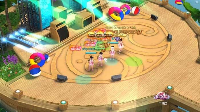 Chỉ với chiếc Smartphone game thủ Tình Kiếm 3D đã được tận hưởng hè sôi động 1