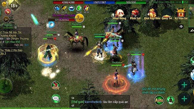 Cảm nhận Kiếm Thế 2009 Mobile: Lối chơi nhập vai cày cuốc kinh điển một thời 0