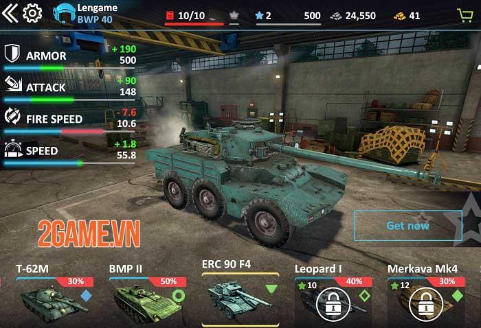 Metal Force 2: Modern Assault - Game bắn tank phong cách quân sự hiện đại 0