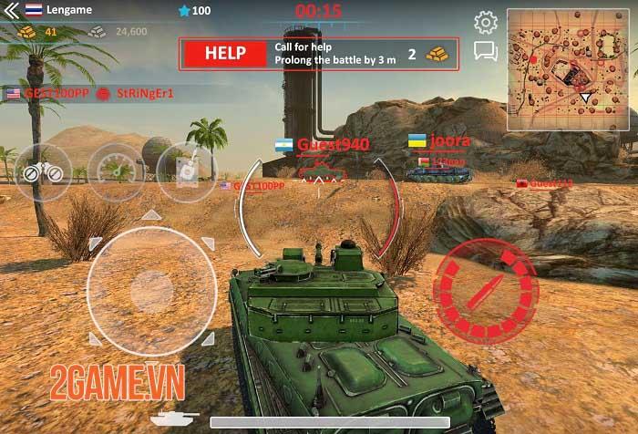 Metal Force 2: Modern Assault - Game bắn tank phong cách quân sự hiện đại 1