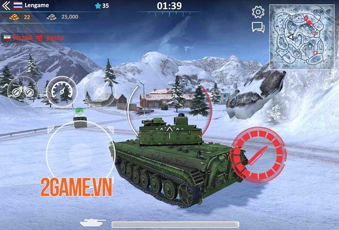 Metal Force 2: Modern Assault - Game bắn tank phong cách quân sự hiện đại 3